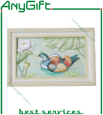AG Polyresin Wall Decoration with Customized Logo