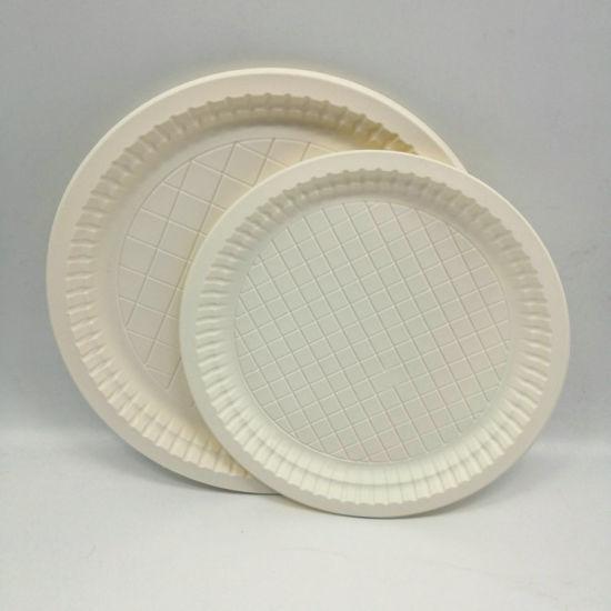 6 7 9 Inch Corn Starch Plate Biodegradable Tableware