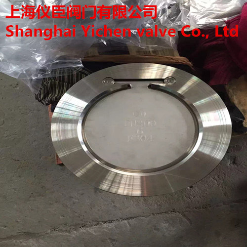 Ss Wafer Flapper Type Spring Check Valve pictures & photos
