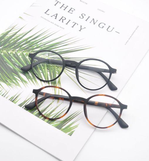 Custom Popular Brand Ultem Optical Glasses Round Retro Eyeglasses Frame