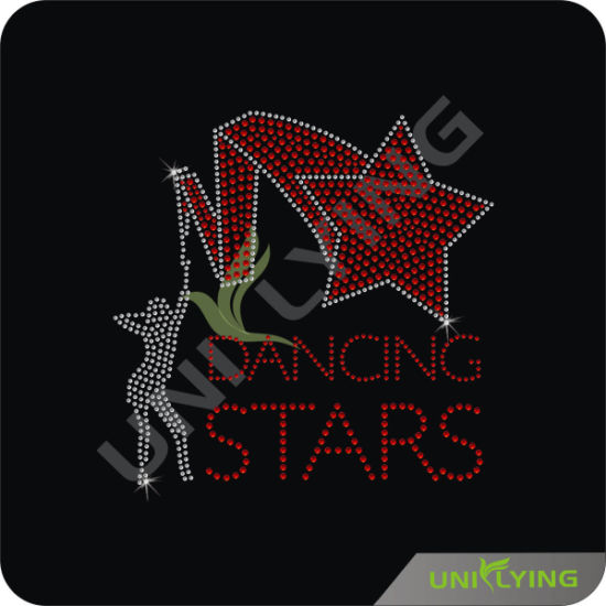China Dancing Stars Korea Strass Hot Fix Motif - China Rhinestone ... 7d451a8bb486