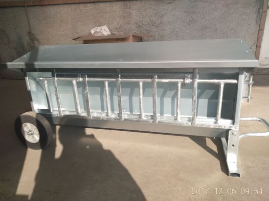 Galvanized Sheep Hay Rack Feeder