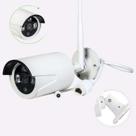 1.3MP Wireless Outdoor Security IP Camera Kits Wholesale WiFi Camera with Complete Systems pictures & photos