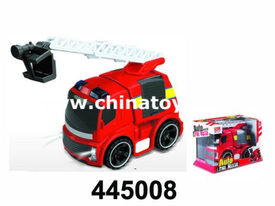 Friction Police Car with Sound and Light, Friction Fire Truck (445011) pictures & photos