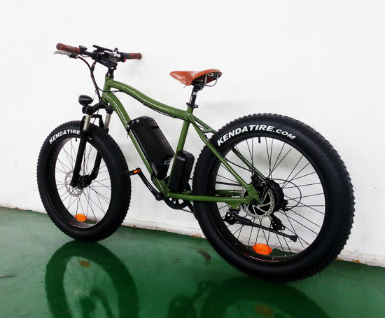 Harley 26 Inch Fat Tire Electric Bicycle pictures & photos