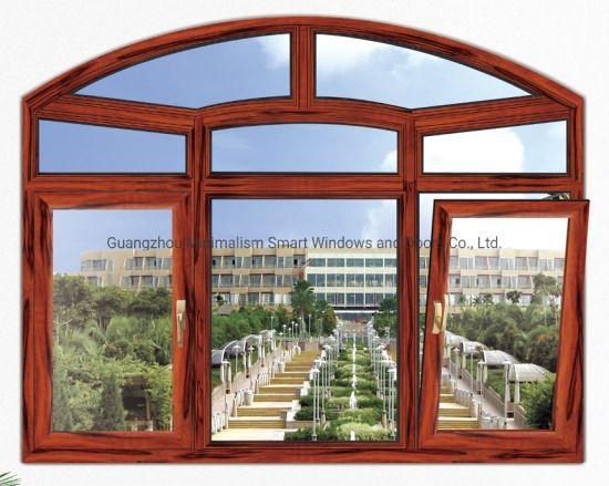 Aluminium Tilt and Turn /Awning Window with Double Glazing