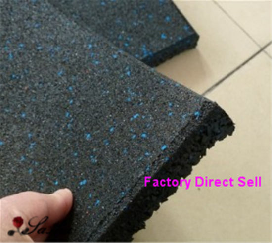 Anti-Slip Fitness Rubber Gym Flooring Rolls Tiles Mats Matting Flooring pictures & photos
