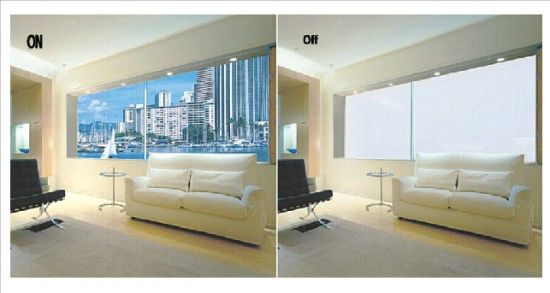 Switchable Glass for Privacy Space Partition