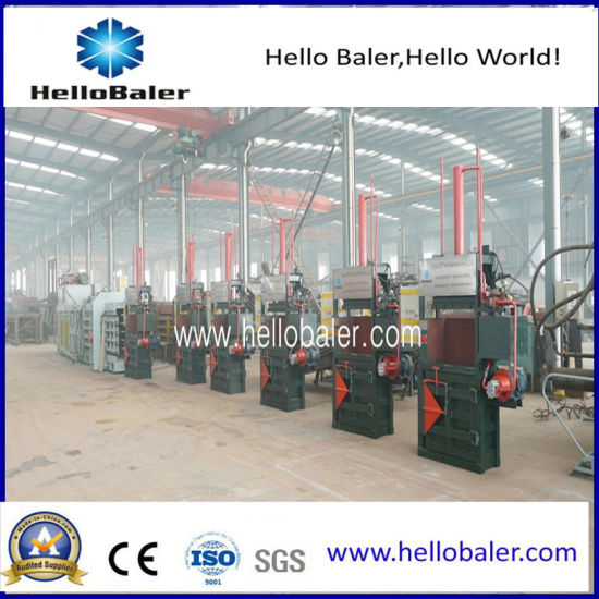 Hydraulic Vertical Paper Baling Press Machine for Recycling Center (VM-3) pictures & photos