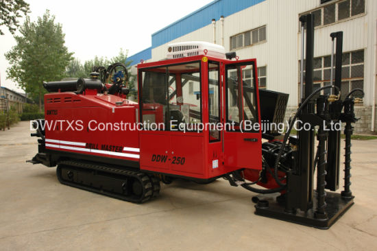 Trenchless Horizontal Directional Drilling Machine Drilling Rig Ddw-250