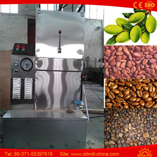 Sesame Extraction Almond Pumpkin Peanut Oil Cold Press Machine pictures & photos