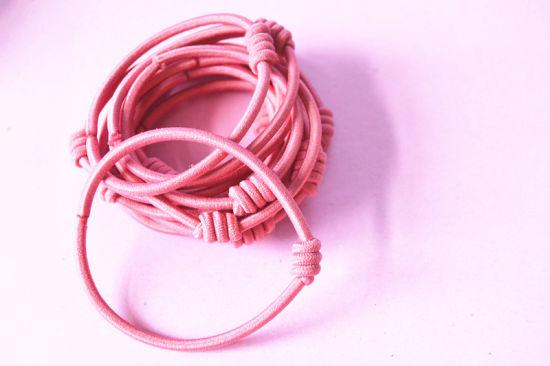 China Girls Hair Elastic Bands Rubber Band Hair Ties - China Metal ... a4188f9ea2b