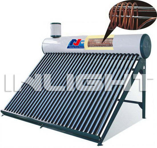 Color Steel Copper Coil Solar Water Heater