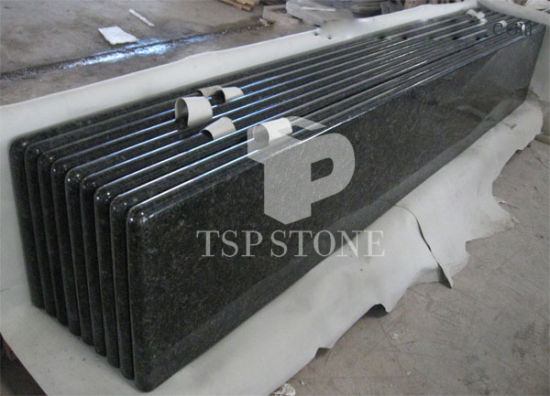 Granite Stone Table Countertop (Black granite) pictures & photos