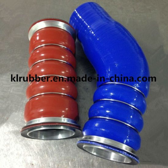 High Quality Reinforced Hump Rubber Silicone Hose for Auto Parts