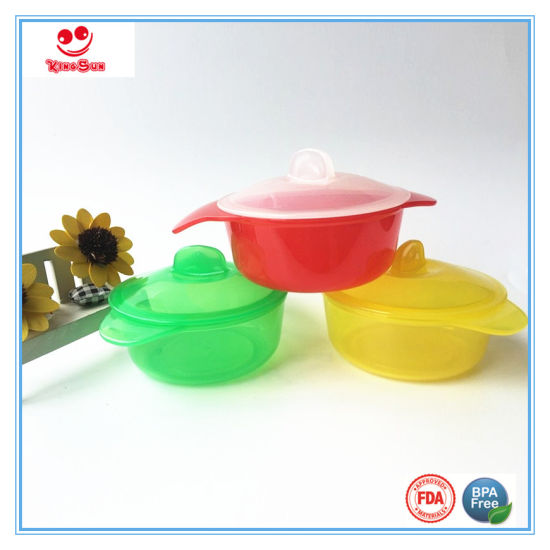 Heat-Resistant Micro Bowl for Baby Feeding pictures & photos