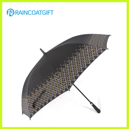Double Layer Windproof Golf Umbrella with Vent