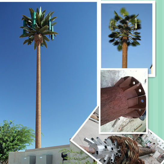 Hot DIP Galvanized Bionic Tree Communication Tower pictures & photos