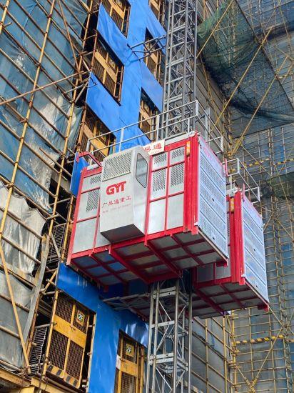 Construction Equipment Double Cage High Speed Sc200 Construction Hoist Building Hoist OEM Support