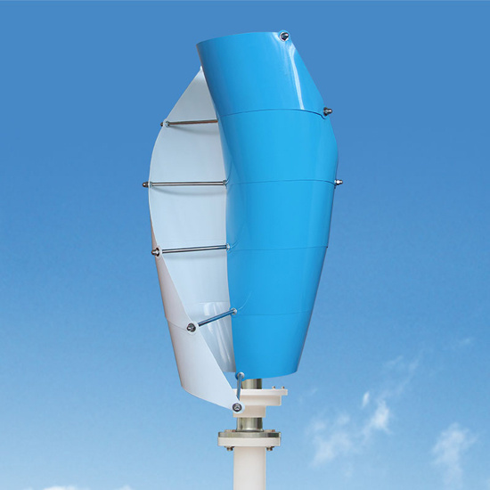 200W Vertical Axis Small Wind Generator Wind Turbines with Max Power 220W pictures & photos