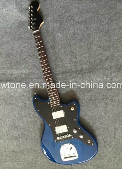 Blue Quality Custom Jaguar Electric Guitar pictures & photos