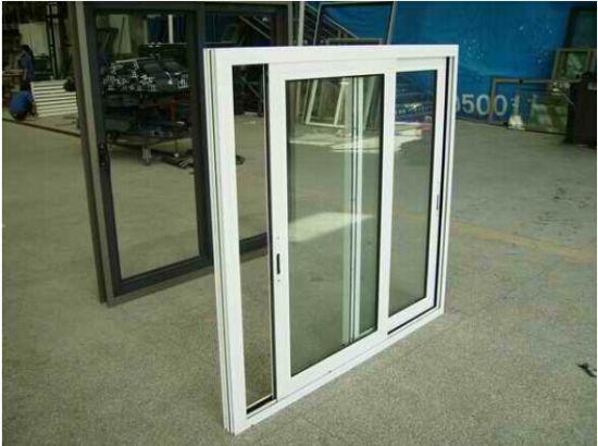 side sliding windows vinyl aluminium single lock double side sliding window china