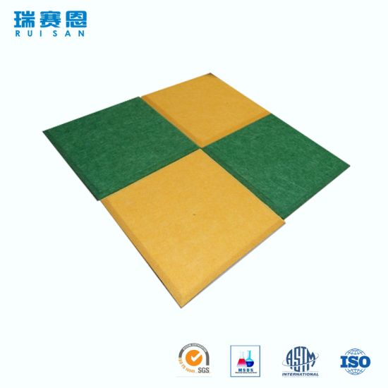 5mm Thickness Polyester Fiber Acoustic Panels Fire Ant Panel For Wall And Ceilings