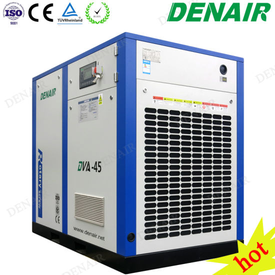 15-250 Kw Electric Motor Inverter Conversion Frequency Screw Type Air  Compressor