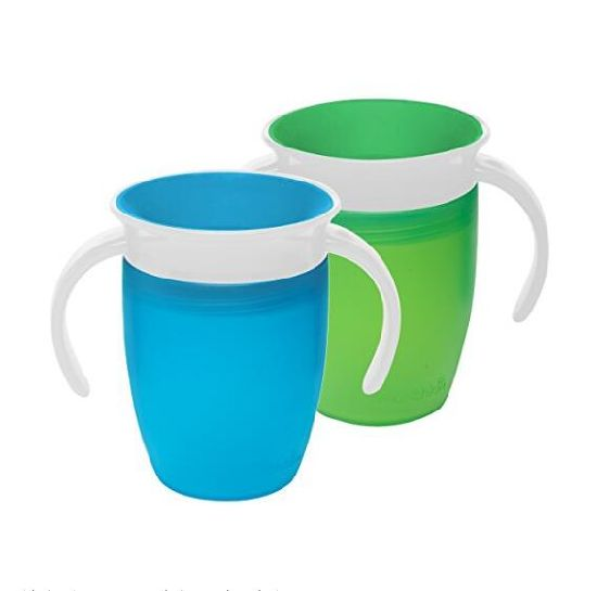 Rotation Handle Miracle Colorful Magic 360 Trainer Cup