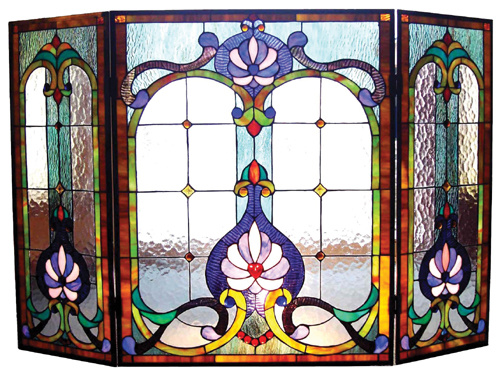 Tiffany Stained Fusing Glass Window Panel