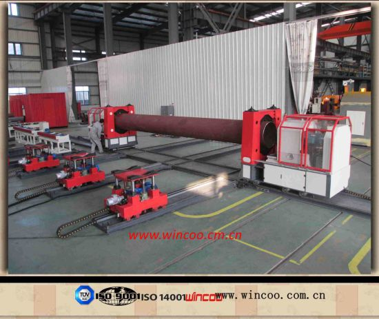 Portable Automatic Pipe Spool Fabrication Line/Solution pictures & photos