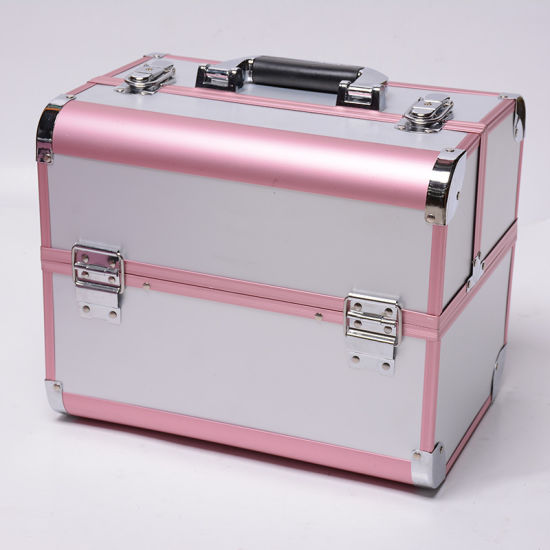 Factory Direct Sale Portable Multideck Cosmetic Case pictures & photos