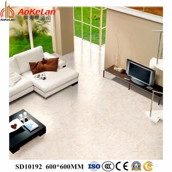 "600X600mm (24""X24"") Full Glazed Polished Ceramic Floor Tile for Building"