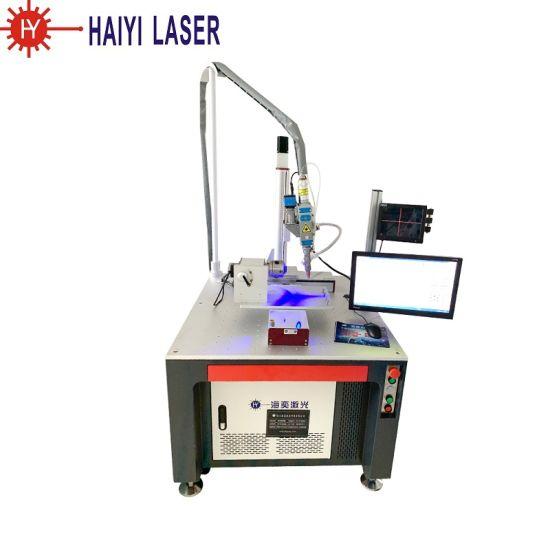 High Precision Fiber Laser Spot Welder Stainless Steel / Carbon Steel / Aluminum Continuous Laser Welder