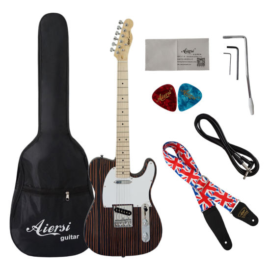 Wholesale Aiersi Brand New Factory Produced Electric Guitar pictures & photos