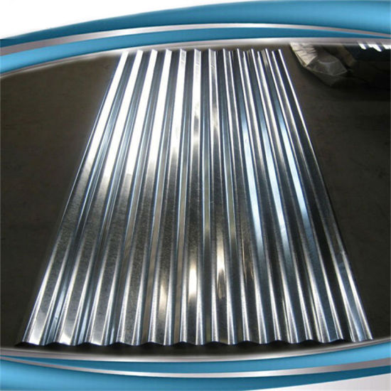 G60 Zinc Coated Corrugated Galvanized Roof Sheet