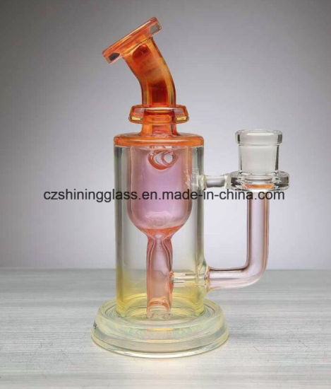 China 14mm Fumed Female Incycler Smoking Water Pipe DAB Rigs