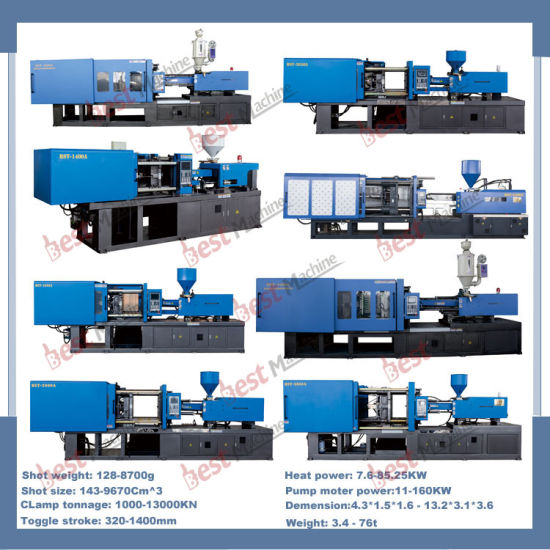 2016 Newest Design Horizontal Injection Molding Machine for Plastic Flower Pot pictures & photos
