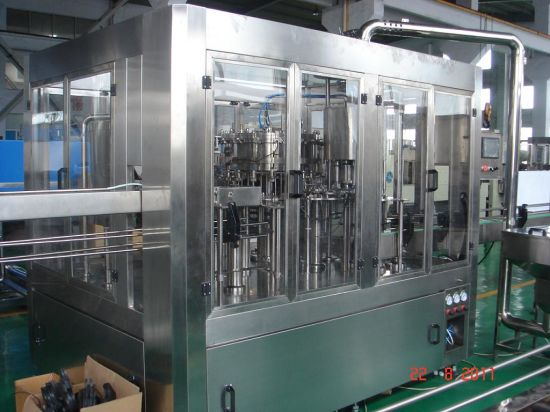 Spring Machine Water Plant with Labeling Machine pictures & photos