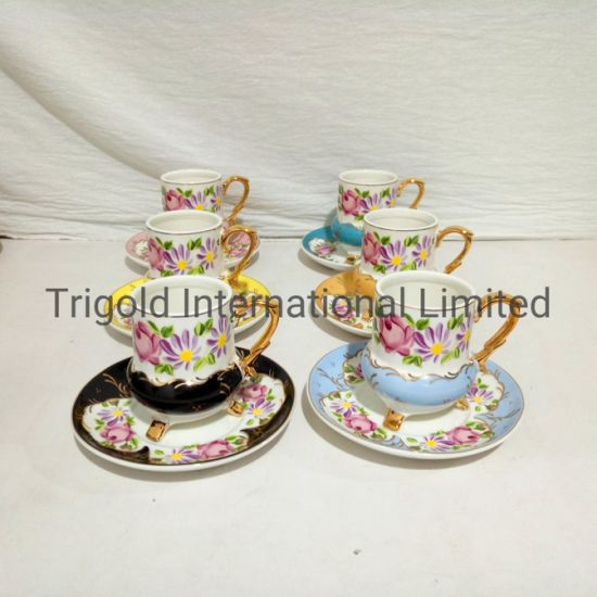 High Quality Coffee Cup and Saucer Set China