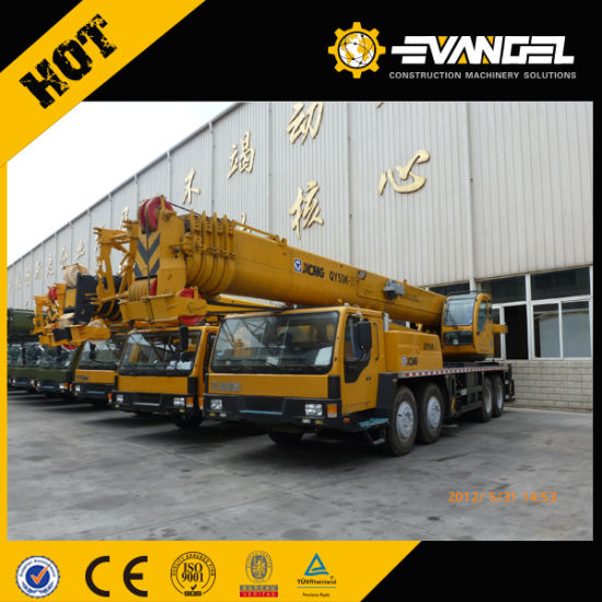 50t China Telescopic Truck Crane Qy50k-II pictures & photos