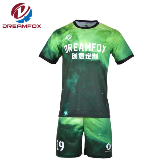 Digital Jersey Football Team Custom Sublimation Cheap Wholesale Soccer Jersey pictures & photos