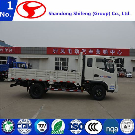 Flatbed Cargo Truck Light With High Quality 4X4 Mini Diesel 3 Ton Lorry Dimensions