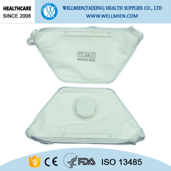 Nonwoven Duckbill Type Ffp2 Dust Mask Without Valve pictures & photos