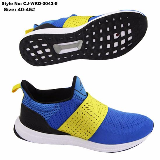 EVA Shoe Lace-up New Style Sport Shoes Men Casual Sneakers and Footwear 2017 pictures & photos