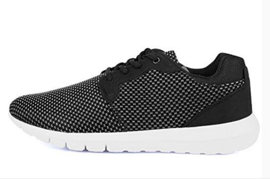 Latest Wholesale Fashion Men's Flyknit Sports Shoes Walking Shoes