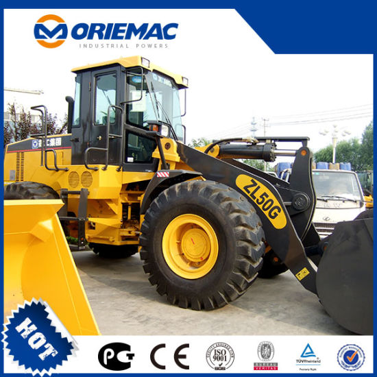 Best Seller Zl50g 5ton Wheel Loader Low Price Sale pictures & photos