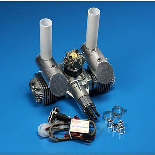 Dle Gasoline Engine Dle120 Rear Exhaust 120cc for RC Airplane 12HP/7500rpm pictures & photos