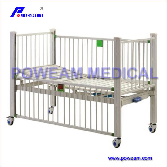 Hospital Furniture Supplier Stainless Steel Medical Baby Cot Baby Bed