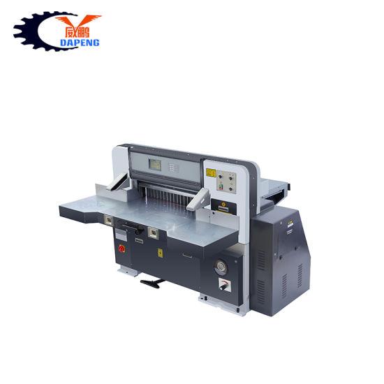 A1a2a3A4 78cm CNC Automatic Computerized Guillotine Paper Slitting Cutter Cutting Machine (QZK780DW-7)